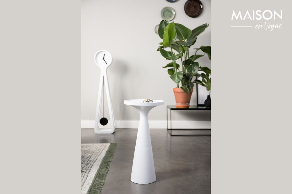 Table d'appoint Floss Blanche Zuiver