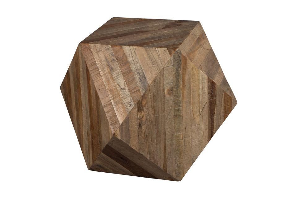 La décoration en bois Geo et sa forme unique ne manquera pas d\'apporter une originalité