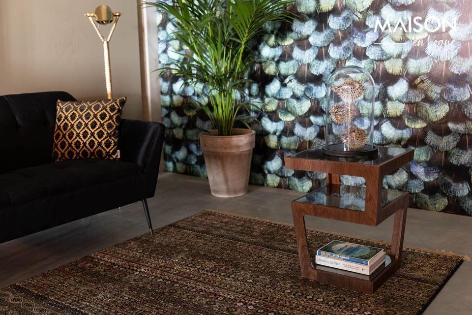 Un look sophistiqué et un style vintage, pour votre salon