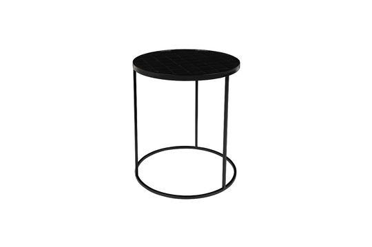 Table d'appoint Glazed noire Détouré