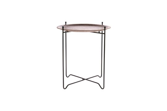 Table d'appoint Lains en noyer taille M