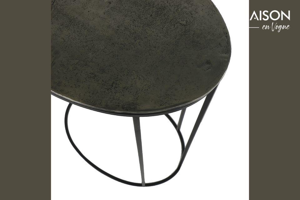 Une table sculpturale