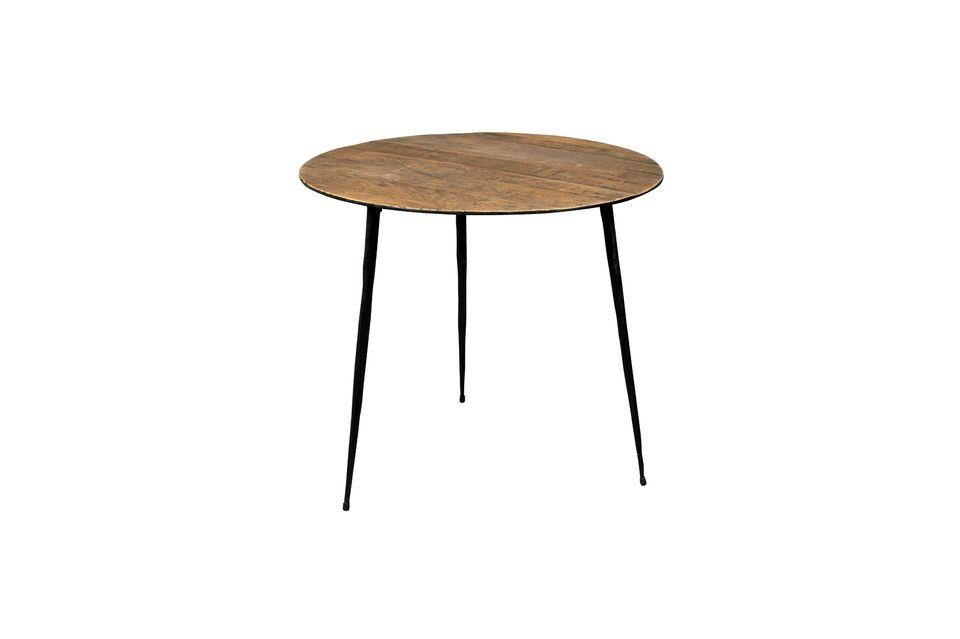 Table d'appoint Pepper marron 45 centimètres - 6