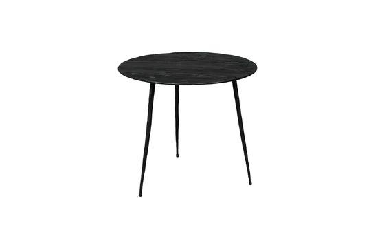 Table d'appoint Pepper noire 40 centimètres Détouré