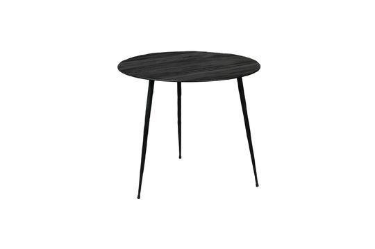Table d'appoint Pepper noire 45 centimètres Détouré