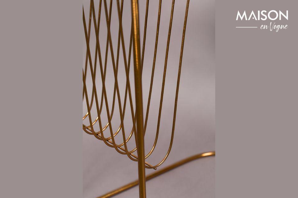 Une table sophistiquée style art déco et terriblement originale