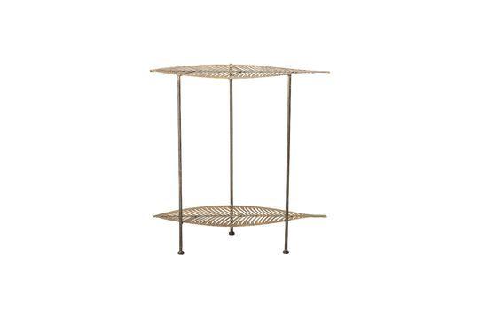 Table d'appoint Silja en métal doré