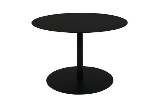 Table d'Appoint Snow M Ronde et Noire Détouré