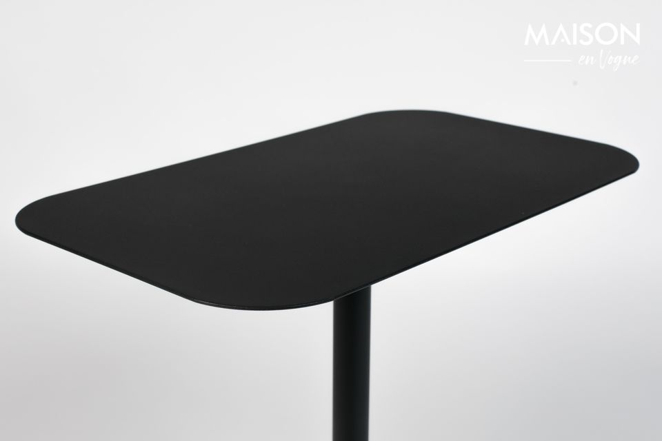 Une élégante table rectangulaire