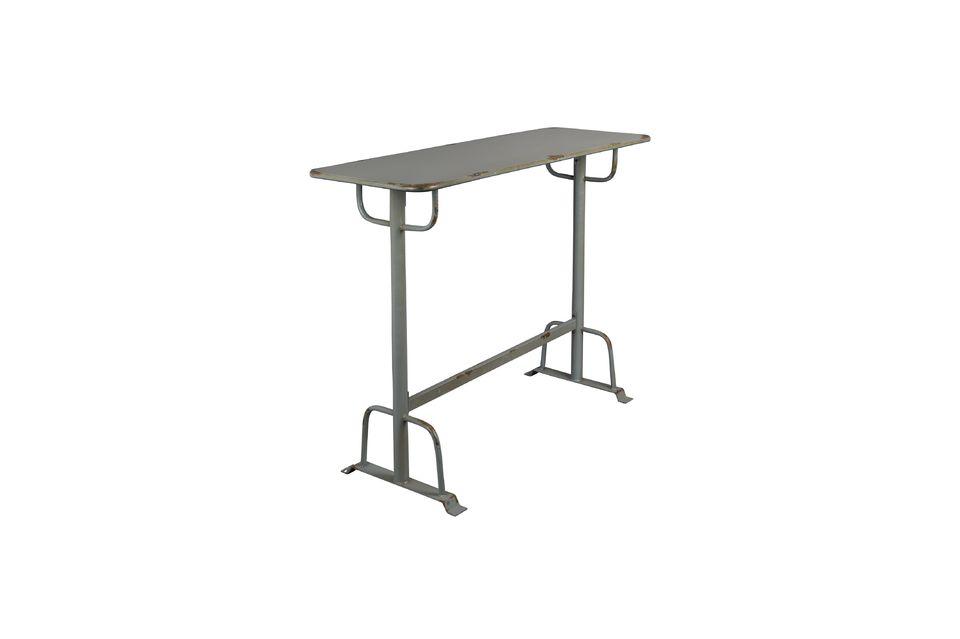 Table de bar grise Declan - 9
