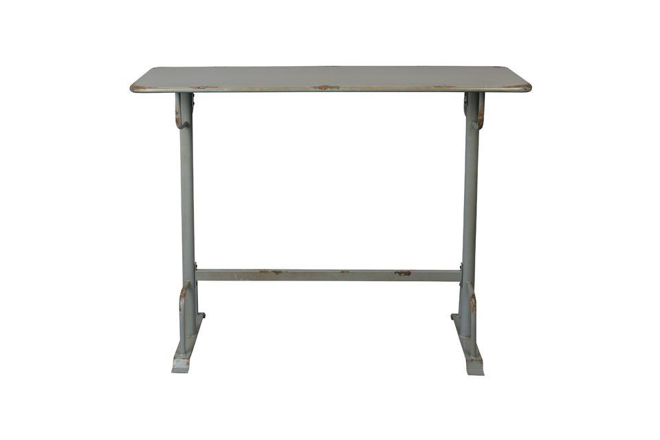 Table de bar grise Declan - 8