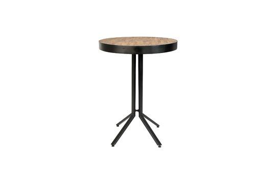 Table de bar Maze ronde finition naturelle Détouré
