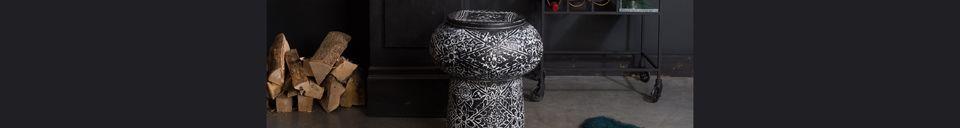 Mise en avant matière Table décorative Tambour