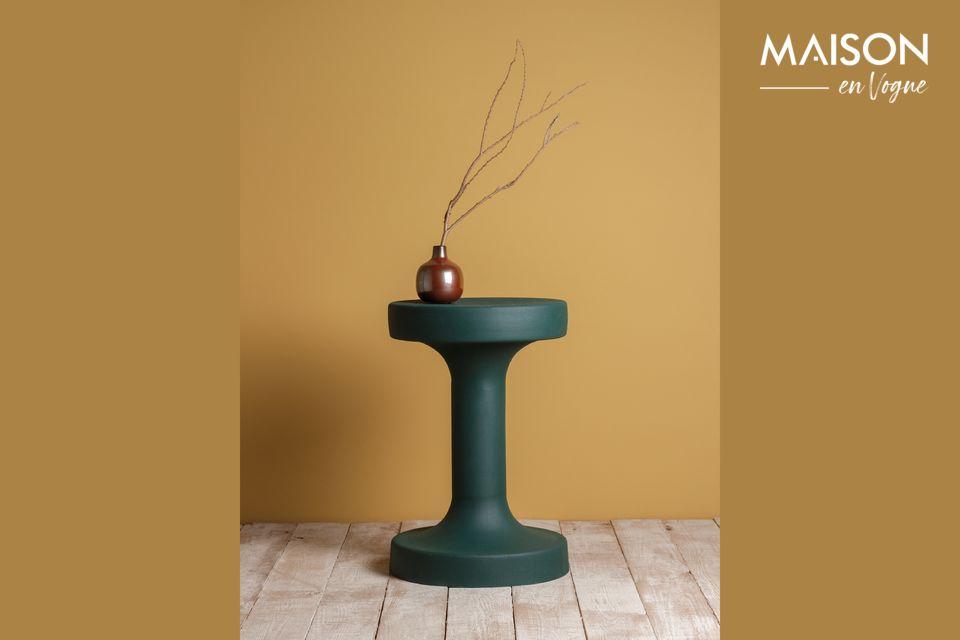 Table en métal vert Forms Chehoma