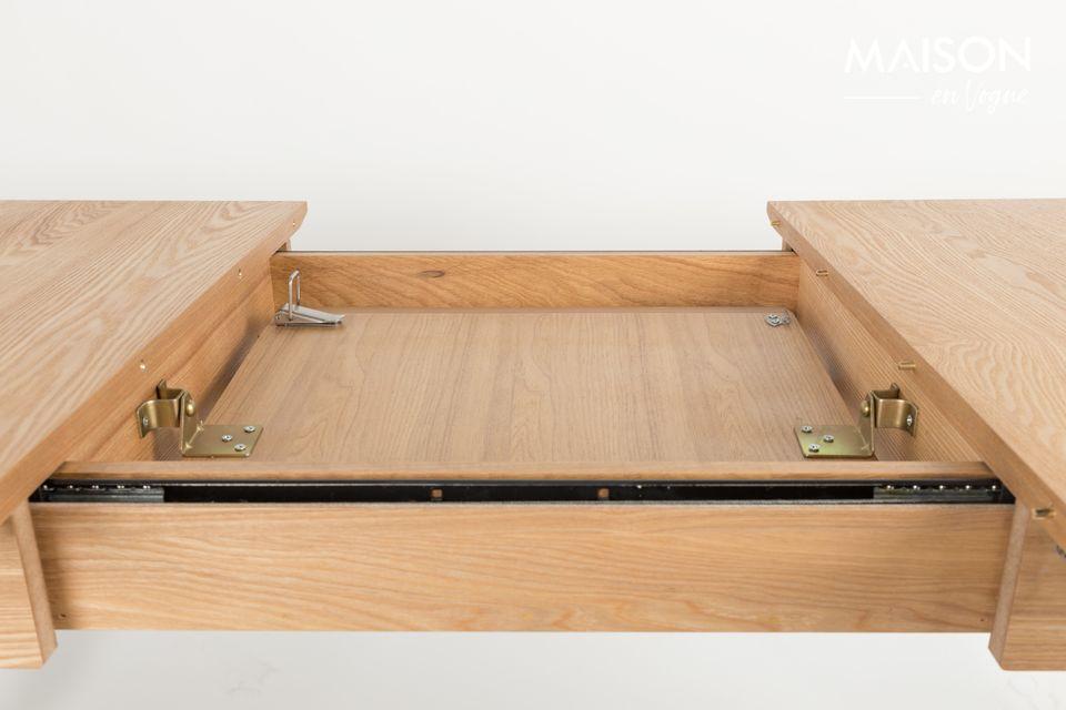Table Glimps 120 162X80 Naturelle - 7