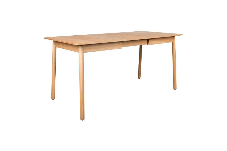 Table Glimps 120 162X80 Naturelle - 14