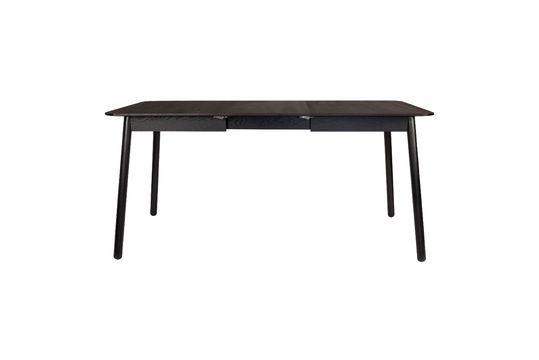 Table Glimps 120 162X80 Noire Détouré