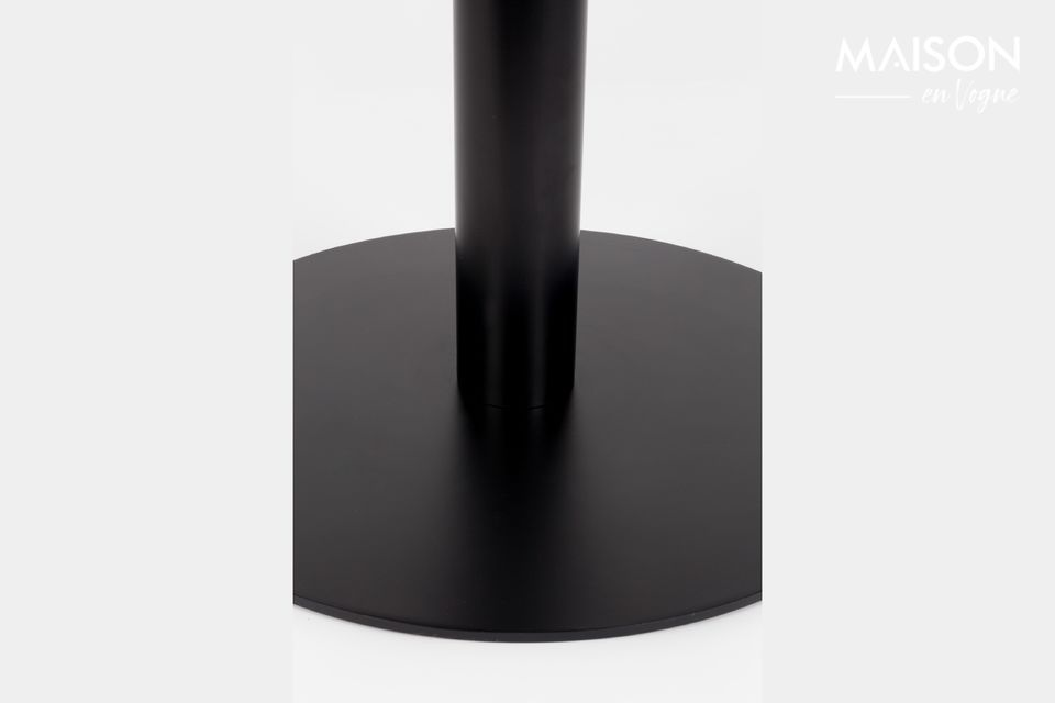 Table Marble King 90' noire - 7