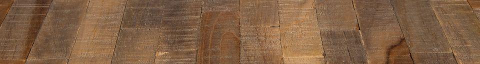 Mise en avant matière Table Mo 110 centimètres