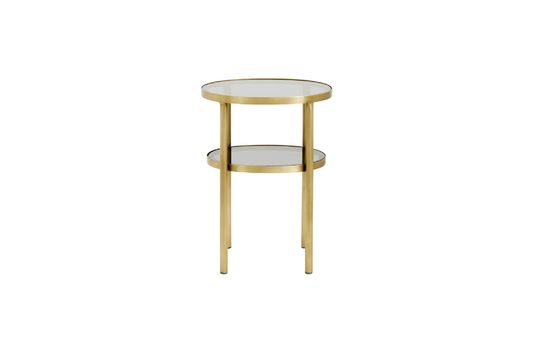 Table ovale Luxury en verre