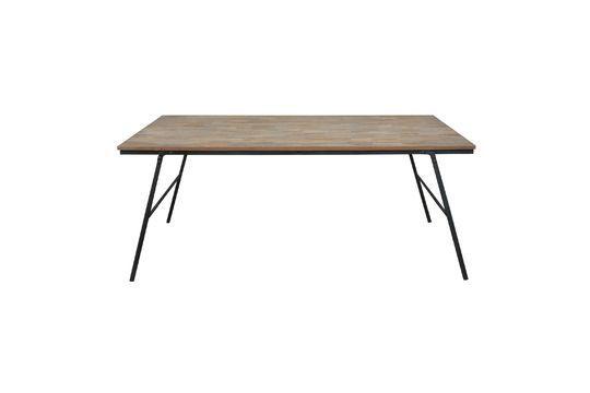 Table pliable Market en teck recyclé Détouré