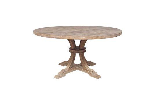 Table ronde en bois Valbelle Détouré