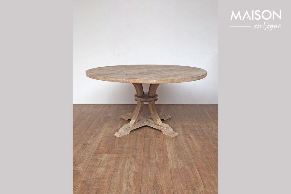 Table ronde en bois Valbelle Chehoma