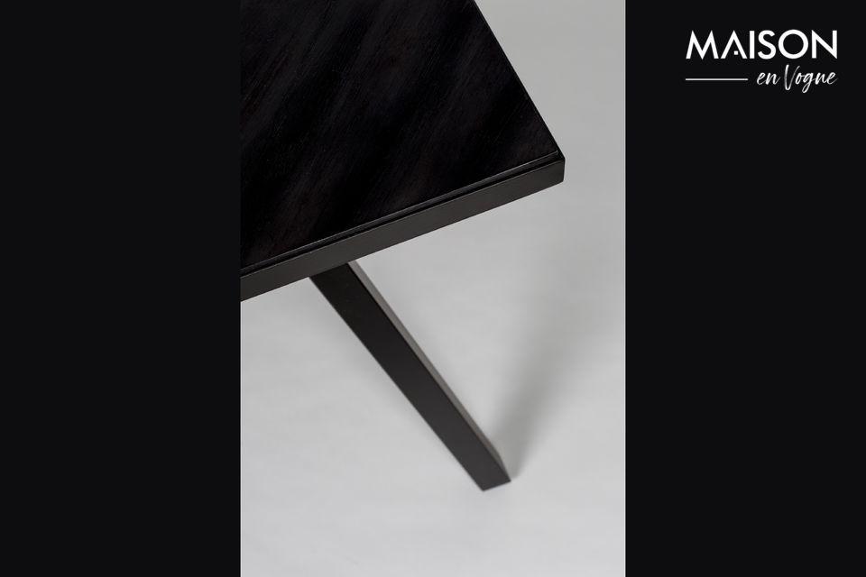 Table Seth 180X90 Noir - 8