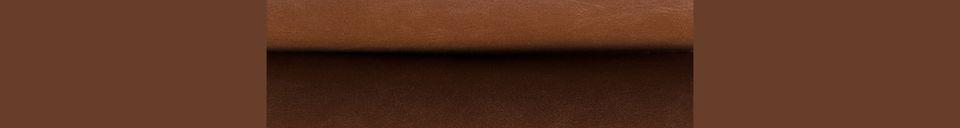 Mise en avant matière Tabouret Bar marron vintage