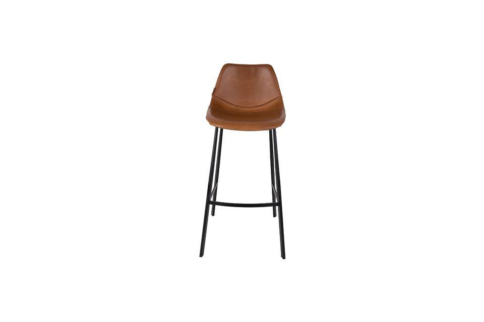 Tabouret de bar brun Franky - 6