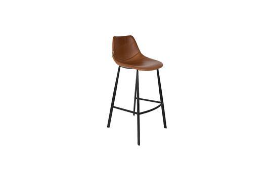 Tabouret de bar brun Franky Détouré