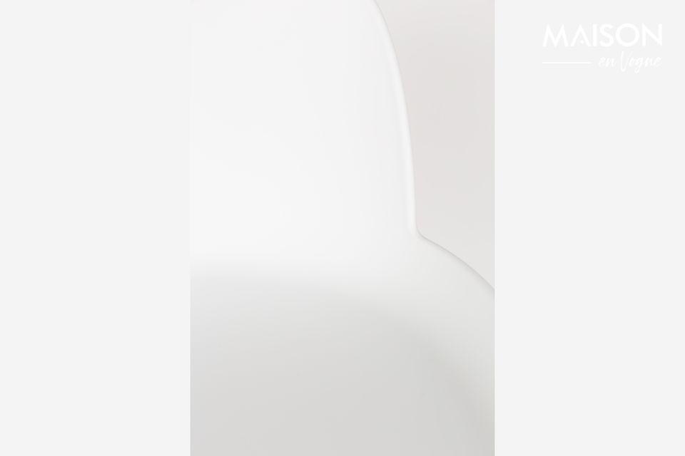 un tabouret de bar deux matières pour un look scandinave