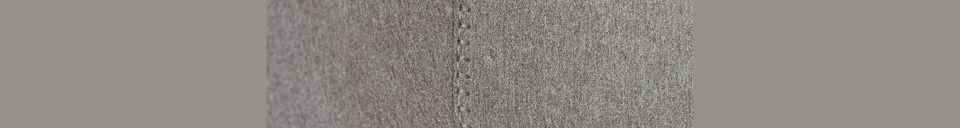 Mise en avant matière Tabouret De Comptoir Feston Fab Grey