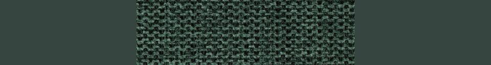 Mise en avant matière Tabouret De Comptoir Jolien or et vert foncé
