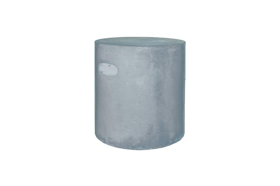 Tabouret Fiberflex gris clair Pomax