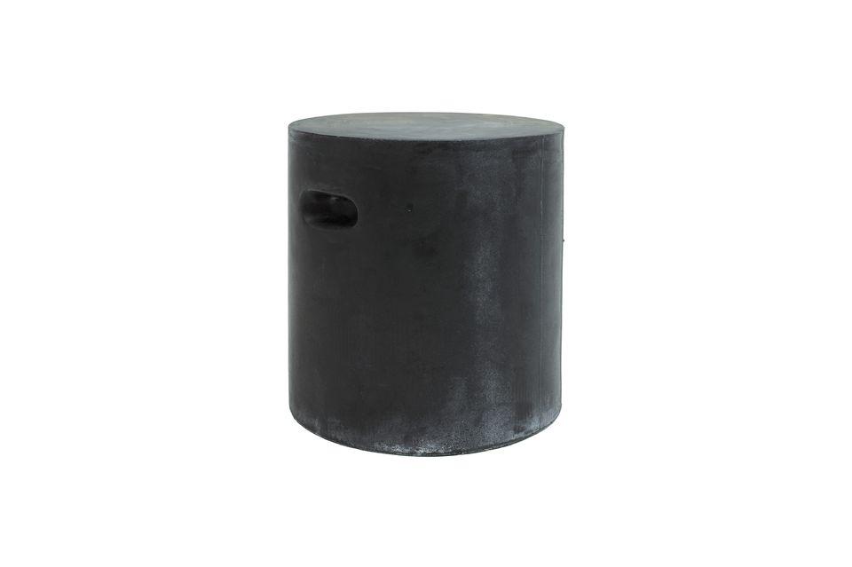Tabouret Fibreflex gris foncé Pomax