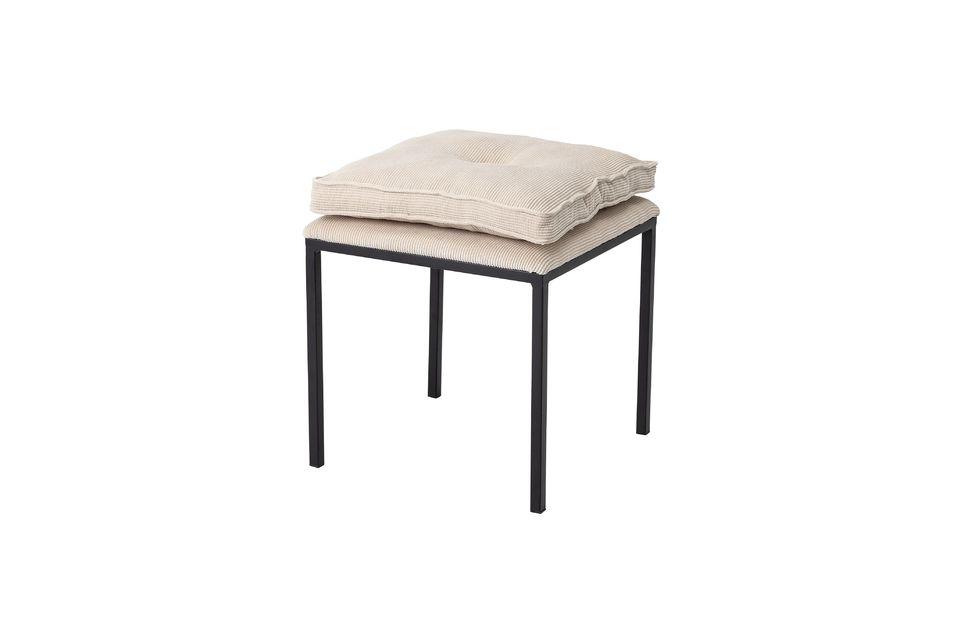 Un tabouret moderne et confortable