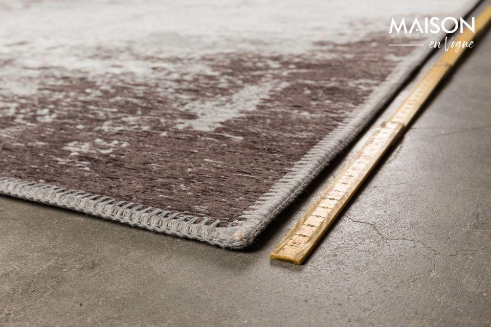 Le tapis Caruso de Dutchbone vous propose aujourd\'hui d\'oser le contraste entre style industriel