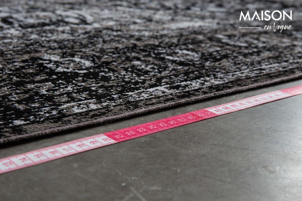 Un tapis au design élégant, compatible avec le chauffage au sol