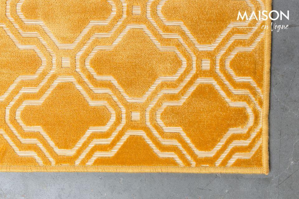 Ses motifs géométriques rappelant le style Art Déco apporteront à votre intérieur un design