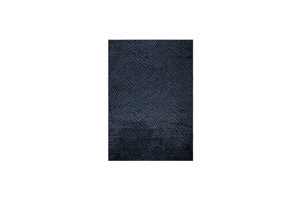 Tapis Freek 170X240 Bleu White Label