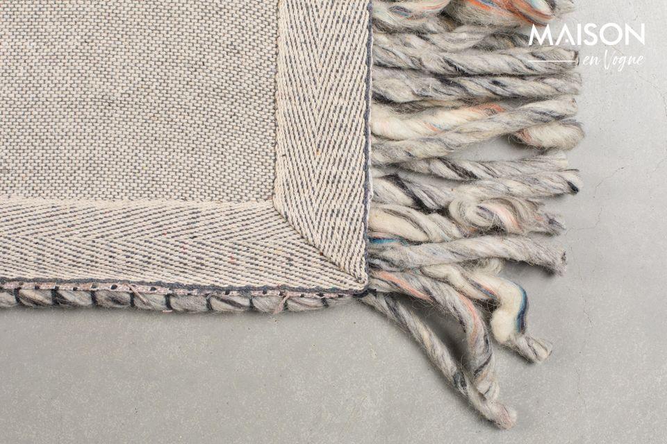 Tapis Frills 170X240 gris-bleu - 9