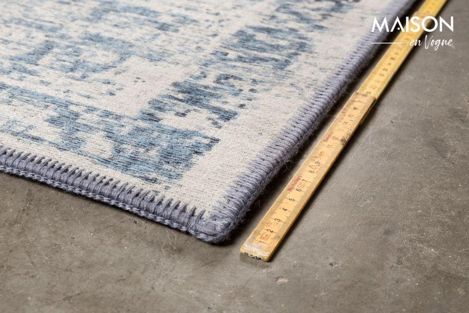 Tissé à la machine avec des fils de coton et de laine d\'une grande solidité