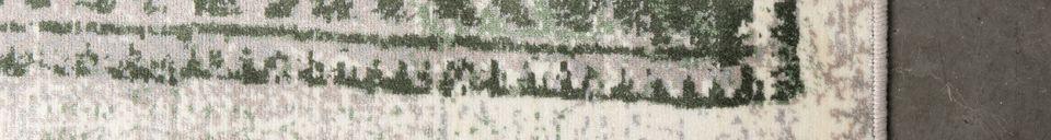 Mise en avant matière Tapis Marvel 170X240 Moss