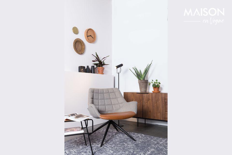 Un tapis au style scandinave et moderne