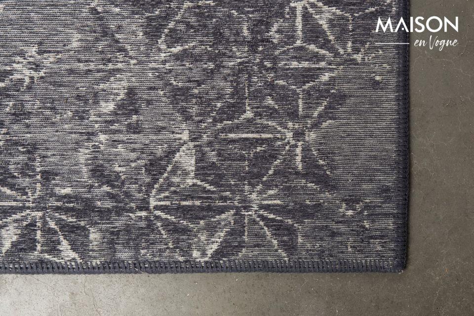 Laissez libre cours à votre imagination et devinez à quoi ressemblent les motifs du tapis Miller