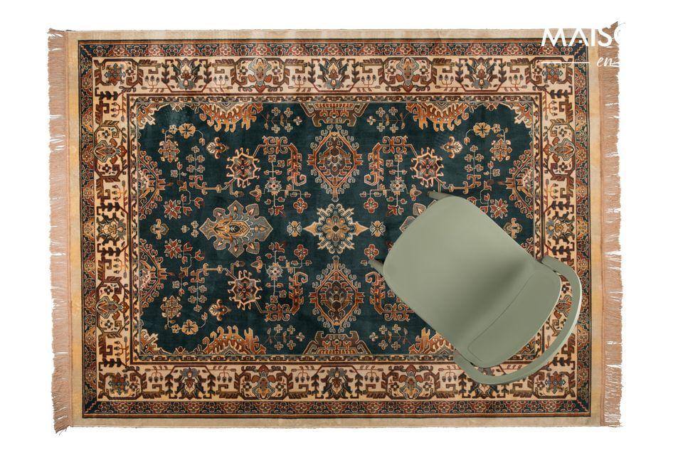 Tapis de style iranien offrant confort et élégance à votre intérieur.