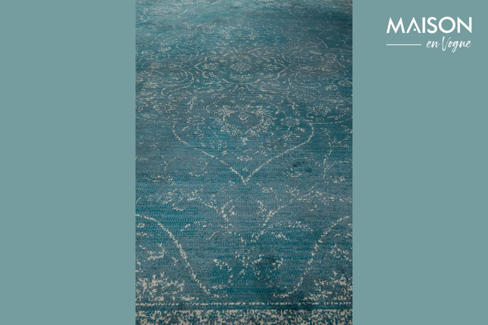 Tapis Rugged bleu - 10