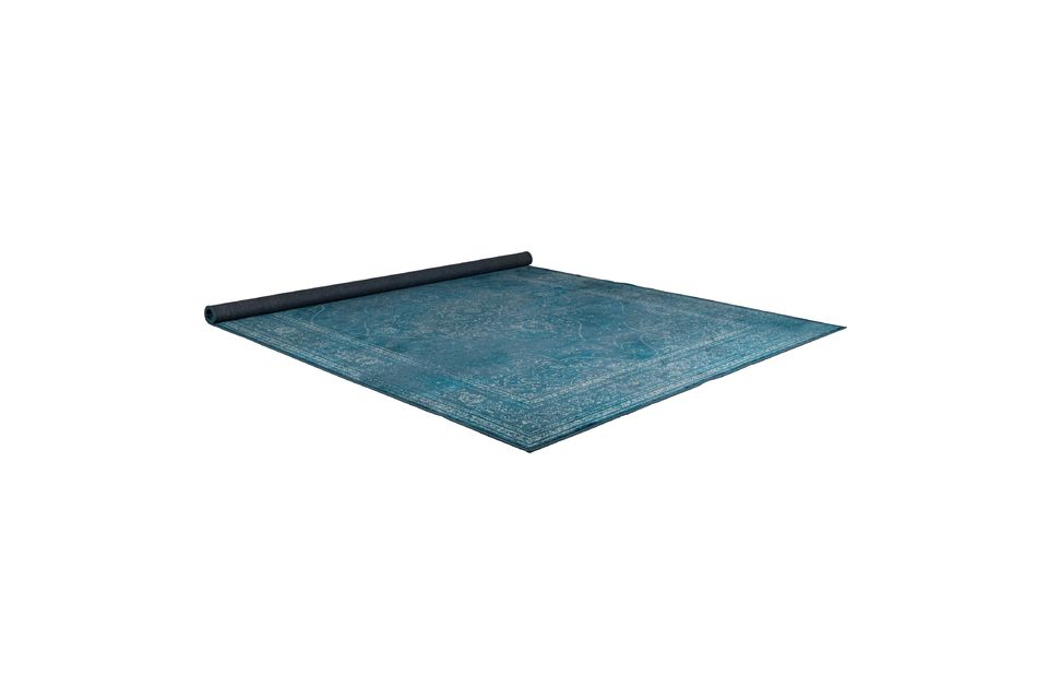 Tapis Rugged bleu - 15