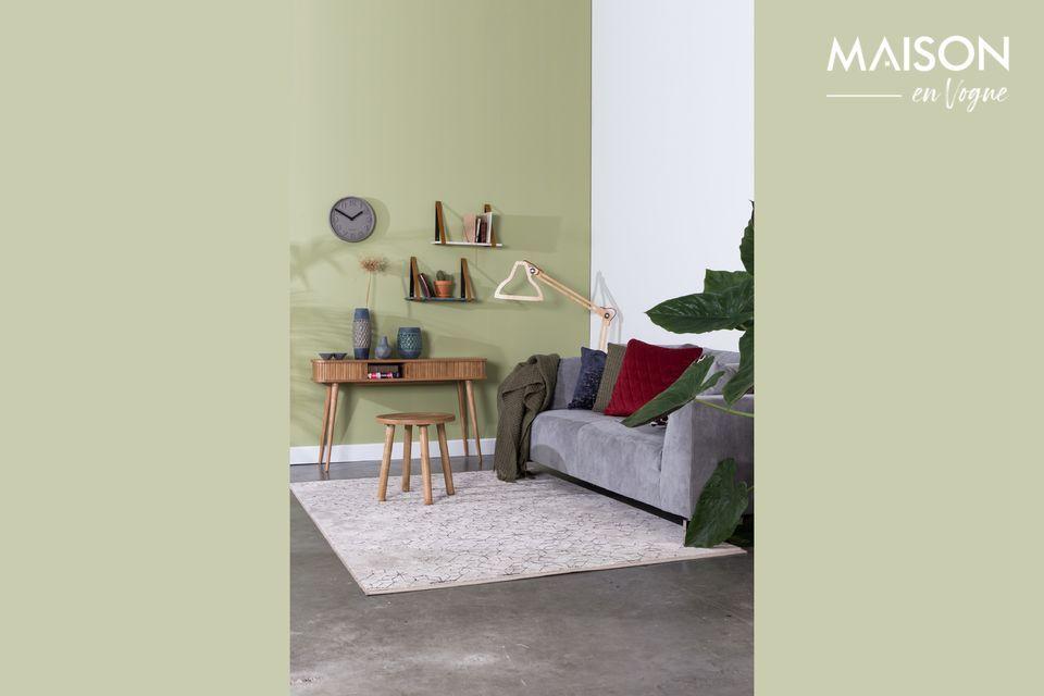 Ce tapis Yenga 160x230 Dusk est idéal pour habiller votre intérieur d\'une note chaleureuse